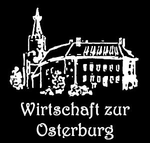 Wirtschaft zur Osterburg in Weida Logo